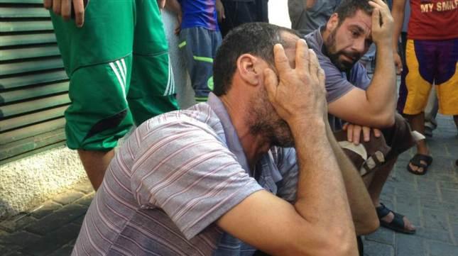 sorg i Gaza